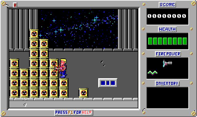 Duke Nukem 1 Screenshot